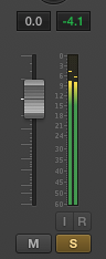 audio fader